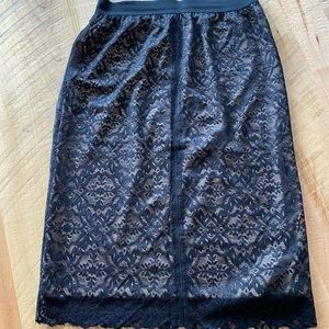 Wilfred Lace Skirt